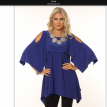 Over piece slit sleeve tunic.